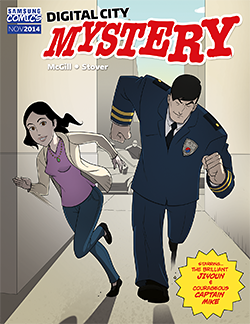 One of my more interesting writing jobs for Samsung.